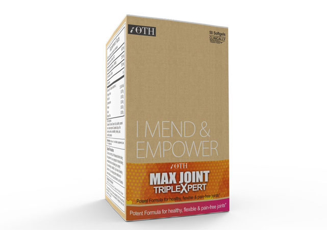 iOTH MaxJoint TriplExpert, joint care supplement, Glucosamine, chondroitin, MSM